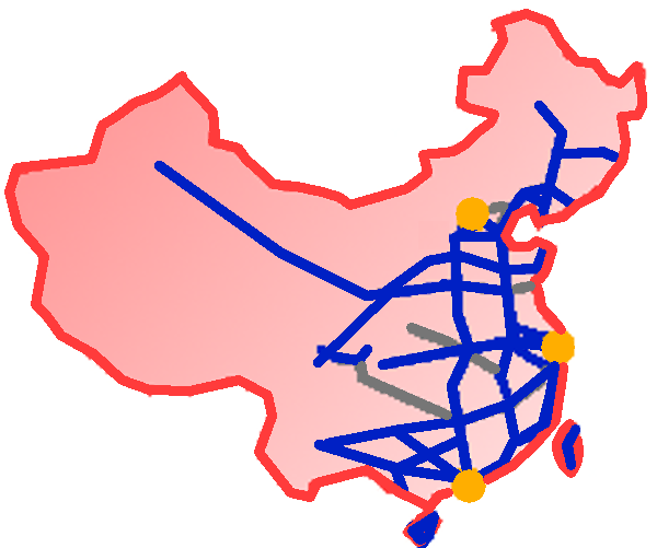 Chinese High Speed Rail Network